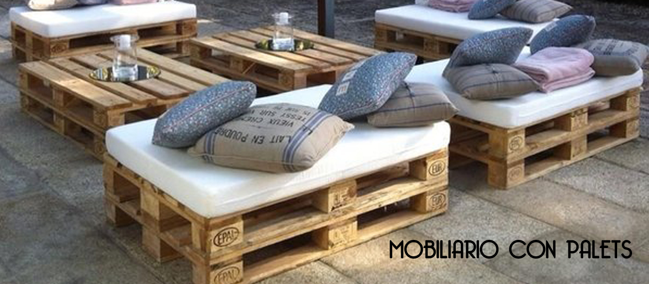 Mobiliario con palets best mobiliario palets with for By h mobiliario