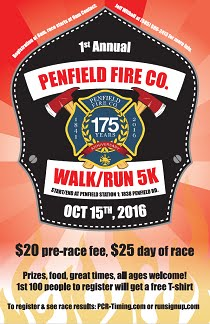 Penfield Fire 5K Run/Walk