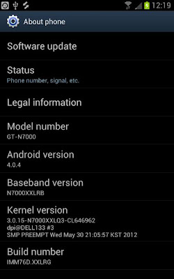 samung galaxy note ics update pop up 4.0.4
