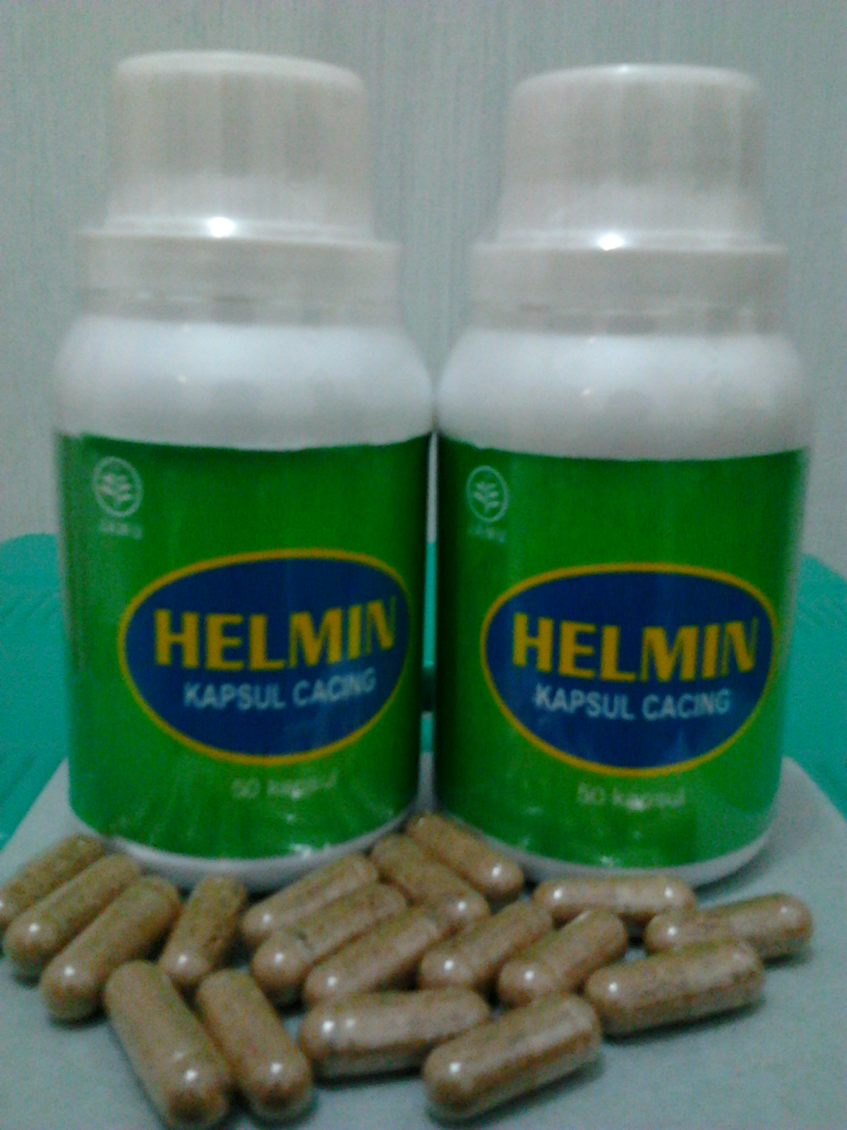Jaya Abadi Herbal: helmin Kapsul (kapsul Cacing)