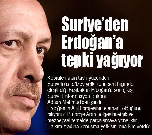 Recep Tayyip Erdoğan'ın ABD projesinin elemanı olduğunu biliyoruz
