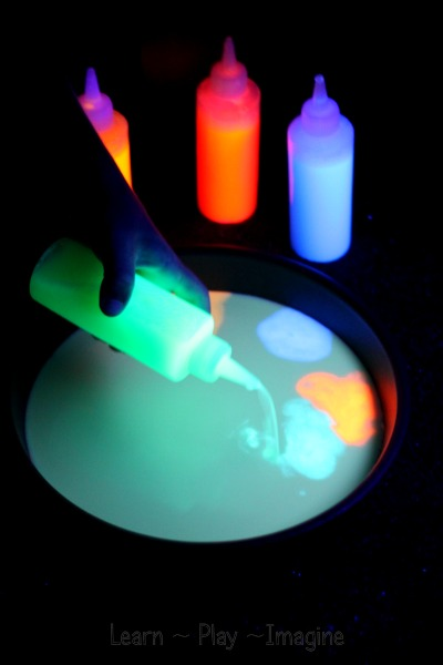 Magic milk that GLOWS