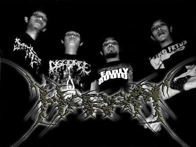Haram Band Death Metal Malang Jawa Timur Foto Logo Artwork Cover Wallpaper