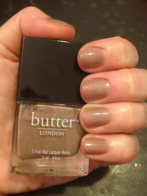 butter LONDON, butter LONDON nail polish, butter LONDON 3 Free Nail Lacquer, butter LONDON All Hail The Queen, nail, nails, nail polish, polish, lacquer, nail lacquer, 12 Days of Favorite Nail Colors from Jamie and Katie, butter LONDON mani, butter LONDON manicure, mani, manicure