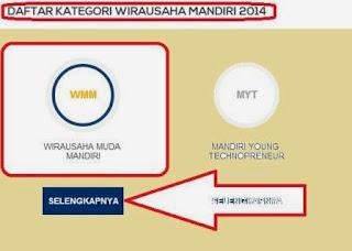 Cara Daftar Di Website Program Wirausaha Mandiri