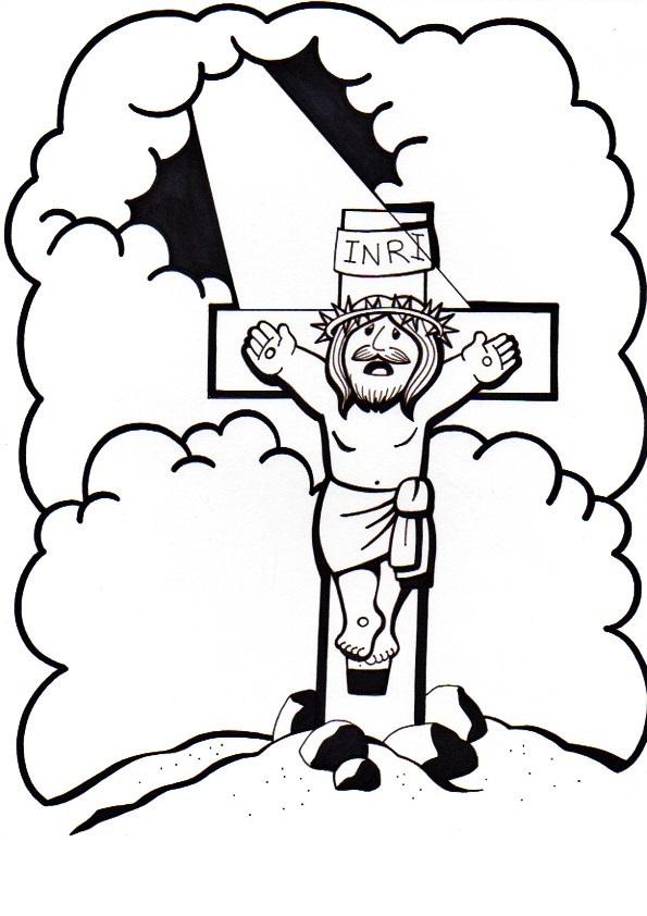 El Rincón de las Melli: 13º ESTACION: Jesús muere en la cruz