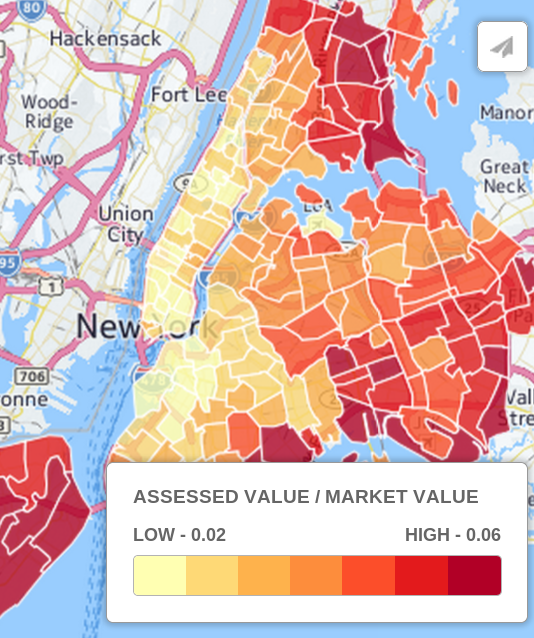Timing New York City Class 1 Average Property Tax Payment by
