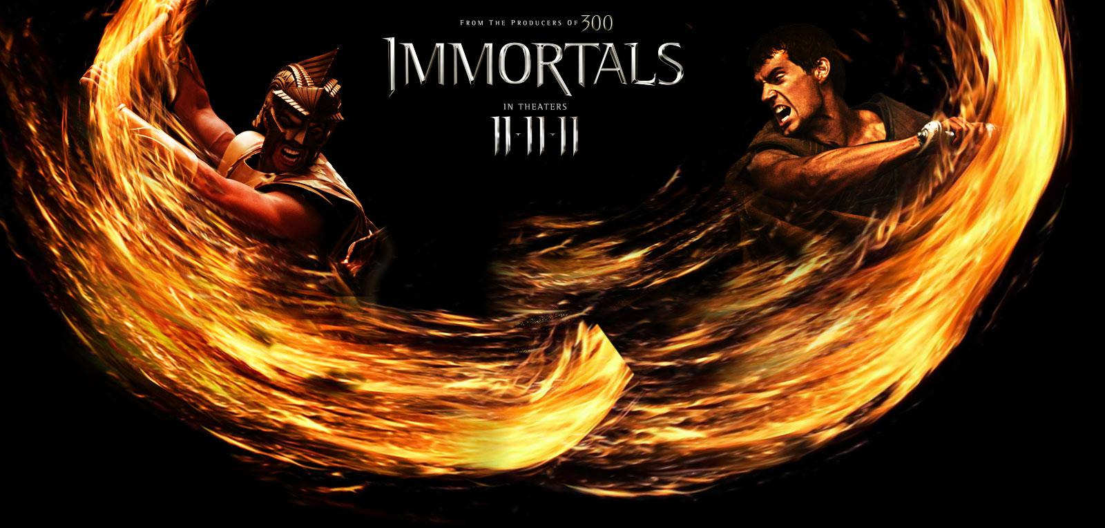 Immortals Movie Poster Immortals Movie Poster Film