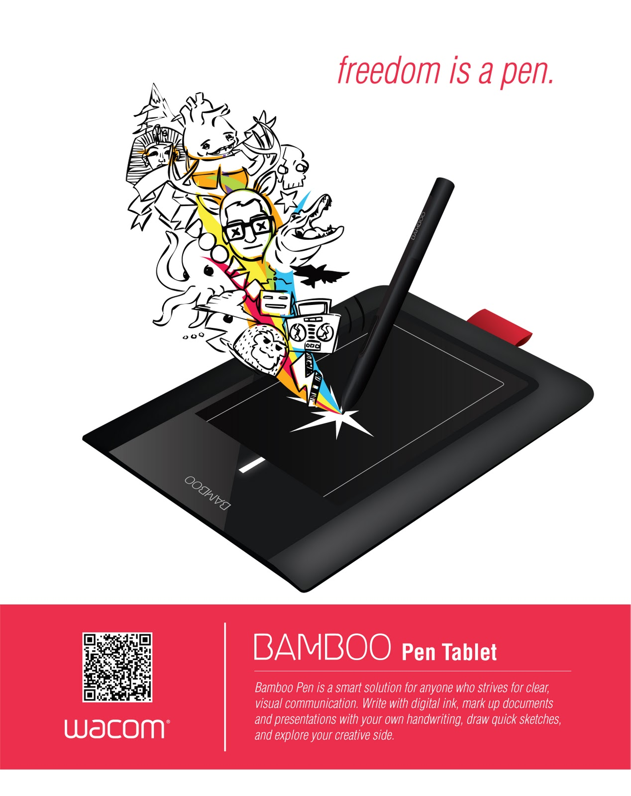 B9 Design WACOM Tablet Magazine Ad