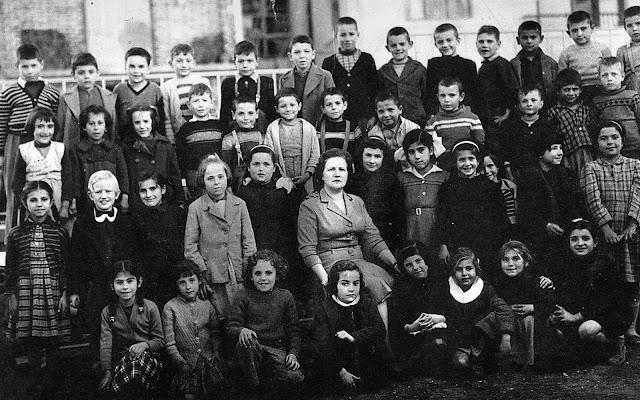 Α΄Δημοτικό Σχολείο ΄Εδεσσας Τάξη Γ΄ το έτος 1958