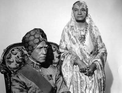 Maharajah and Maharani
