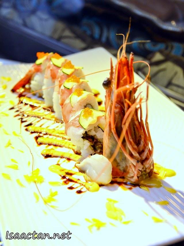 #5 Jumbo Ebi Sushi - RM58