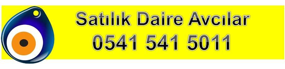 Satilik Daire Avcilar 0541 541 5011