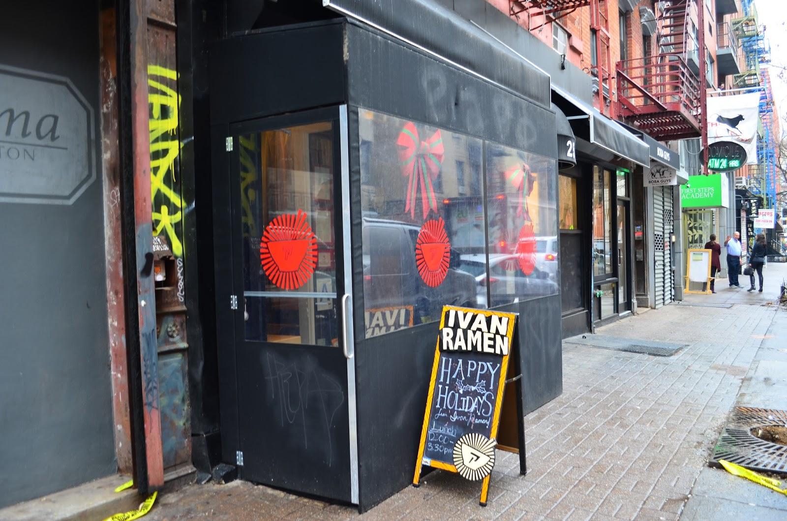 Hedofoodia Ivan Ramen New York