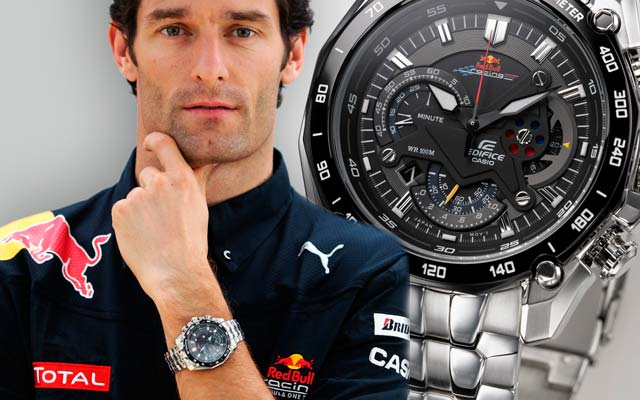 Casio Edifice Red Bull Racing Limited Edition EF-550RBSP-1AVDR
