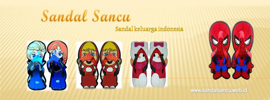 Sandal Sancu Lucu, Grosir Sandal Lucu Sancu, Pusat Sancu