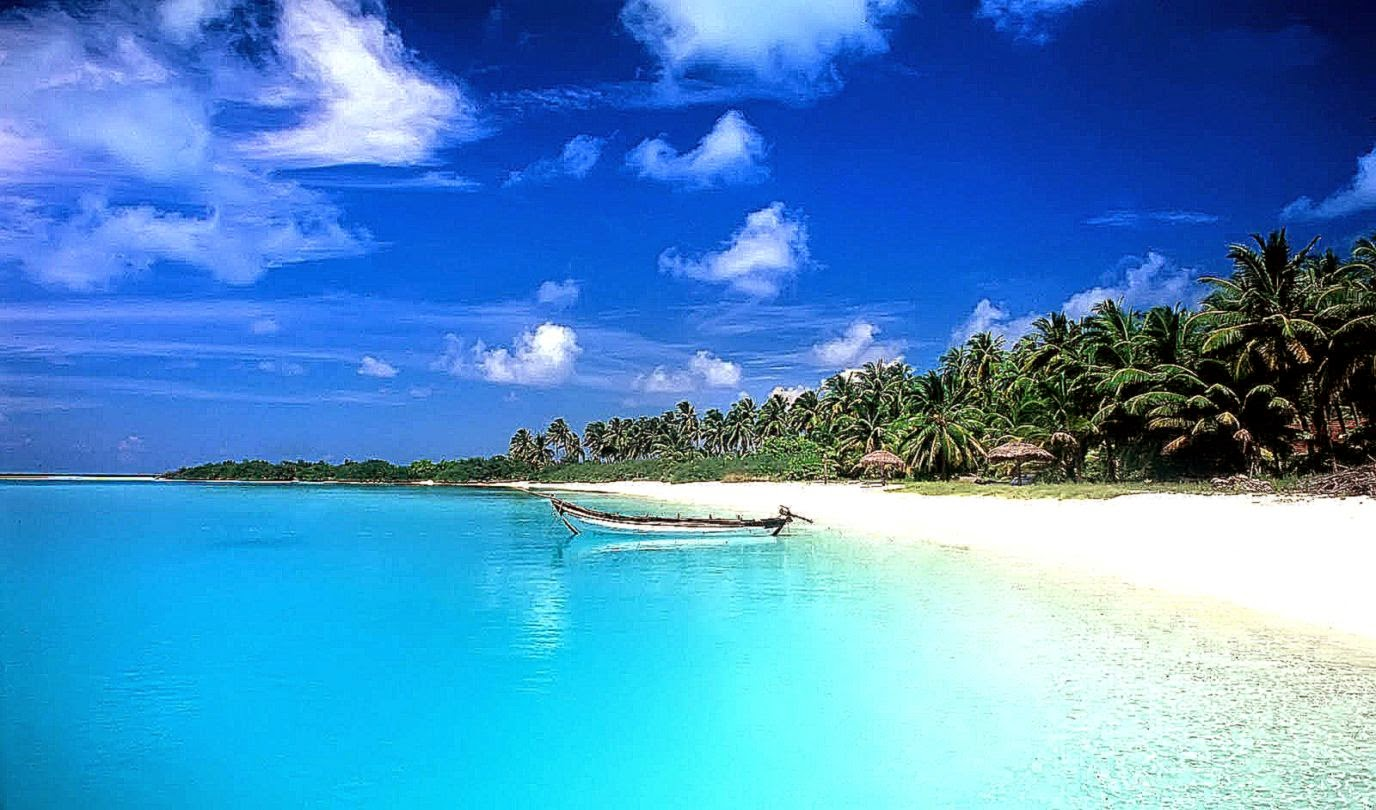 tropical beach wallpaper background desktop | background wallpaper