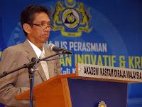 Timbalan Ketua Pengarah Kastam, Datuk Shaharuddin Ibrahim ditembak mati