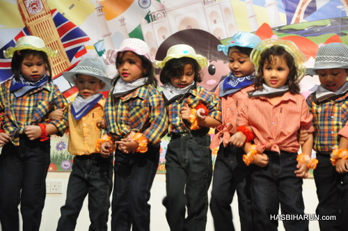 USA dance in Smart Reader Kids Annual Concert and Convocation 2012 by premium beautiful top agent
