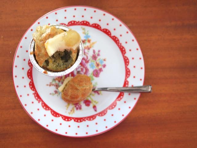 cupcake salado de brie y uvas homemade galiana street galiana days