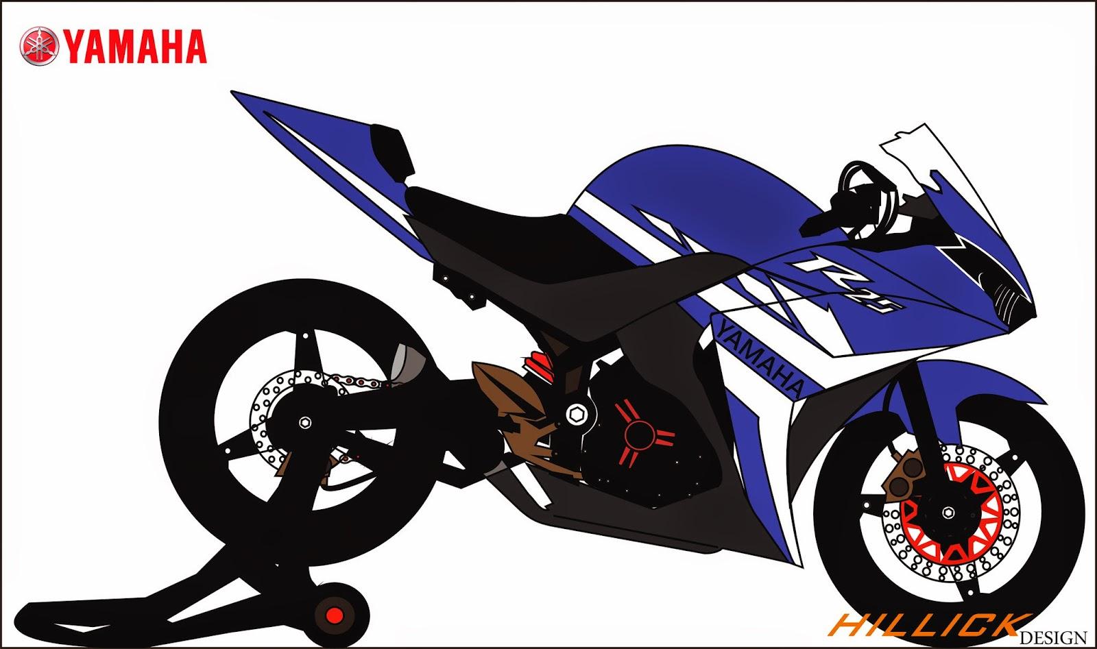 Koleksi Gambar Sketsa Motor Ninja Drag Terlengkap Codot Modifikasi