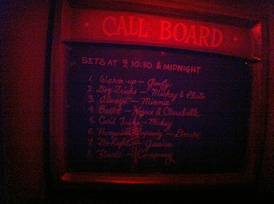 Roger Rabbit's Car Toon Spin Disneyland queue call board
