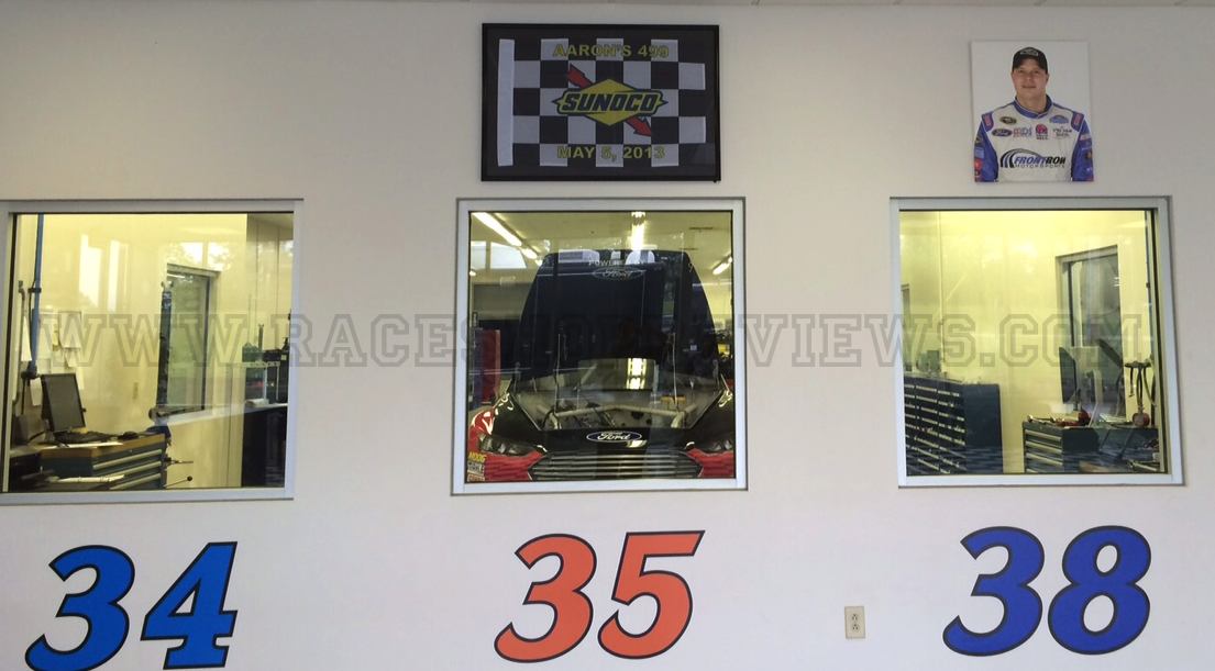 Race shop reviews front row motorsports for Star motors mooresville nc