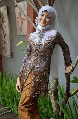 Model kebaya muslim modern minimalis terpopuler