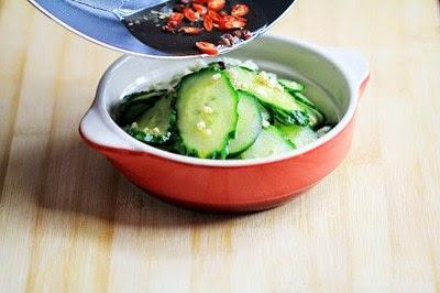 Cách làm salad dưa chuột chua giòn - Nộm dưa chuột  3