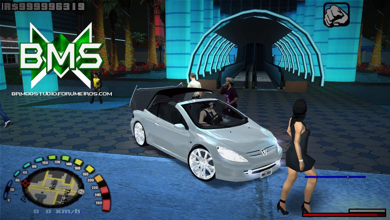 Peugeot 307cc BMS Edition v1.06 Gta-sa-mod-1