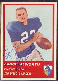 Lance Alworth Catching >1963 AFL Mo...