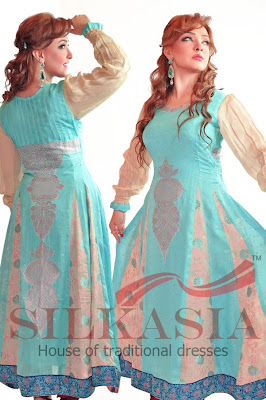 Silkasia Bridal & Partywear Dresses 2013 For Girls