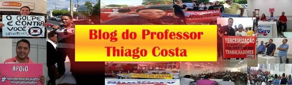 Professor Thiago Costa