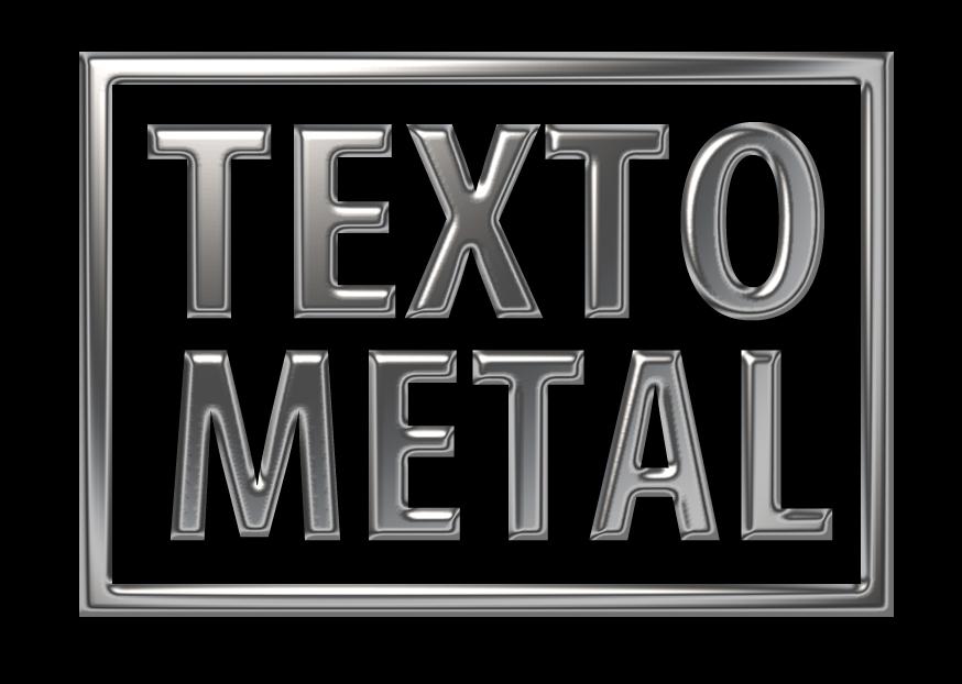 letras de metal en photoshop: