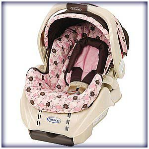 The Graco SnugRide Infant Car Seat And Base Are To Be Used Rear Facing Only Intended For Infants From 5 22 Lbs