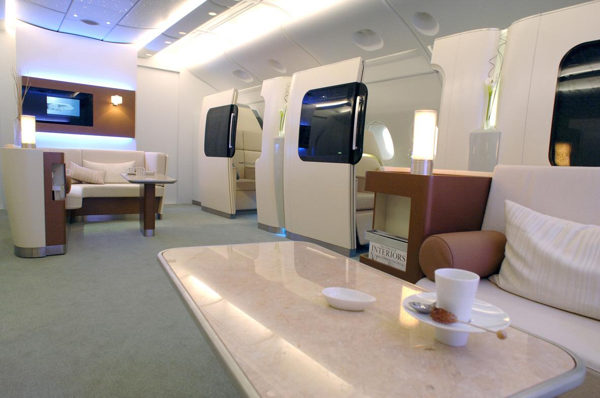 Airbus A380 Interior Wallpaper