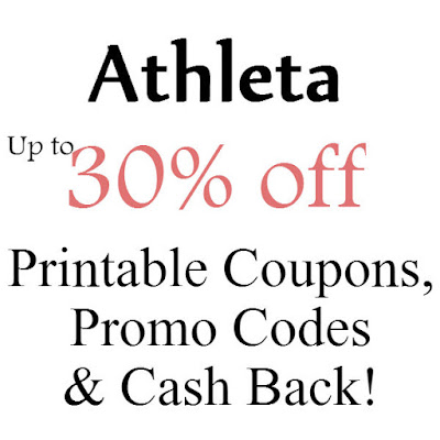 Athleta Printable Coupon January 2016, February 2016