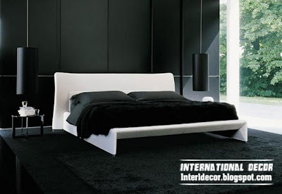 black paint and white furniture for bedroom decorations black and white bedrooms designs, paint, furniture, accessories