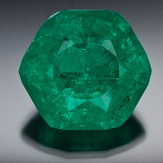 Bright Talk From Goldstein's: The Carolina Emperor: North America's Largest  Cut Emerald