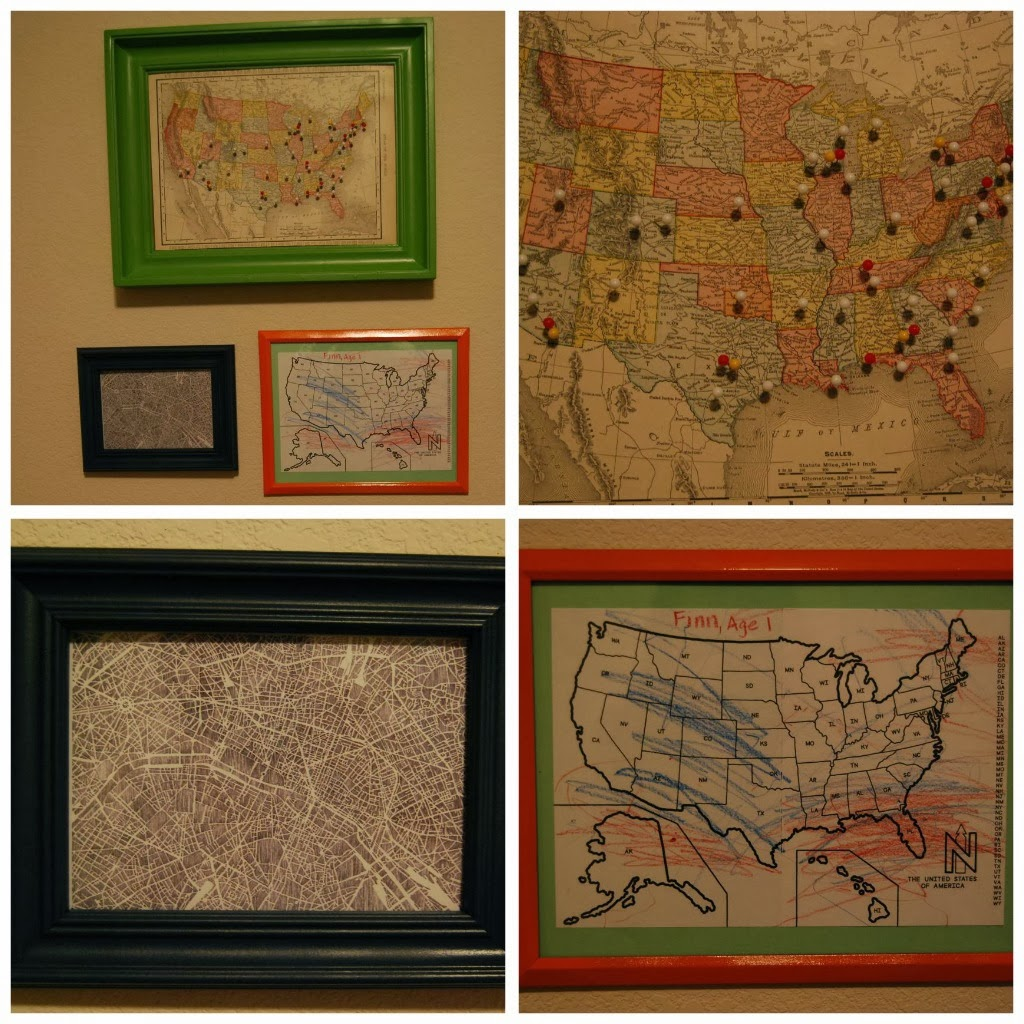 top right diy places we ve been map map was purchased off e bay and i stuck it to a framed bulletin board