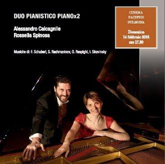63^STAGIONE CONCERTISTICA CAMERATA MUSICALE SULMONESE