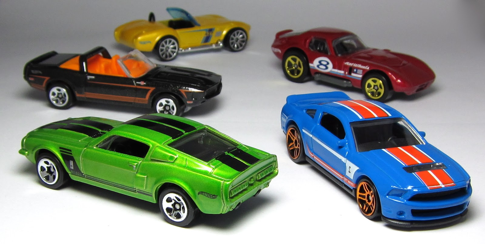 car lamley group first look hot wheels shelby 5 pack. Black Bedroom Furniture Sets. Home Design Ideas