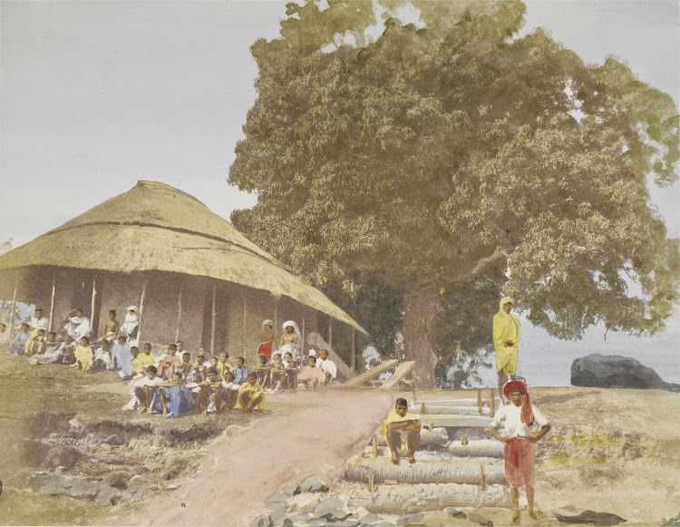 Native School in Bengal - c1851