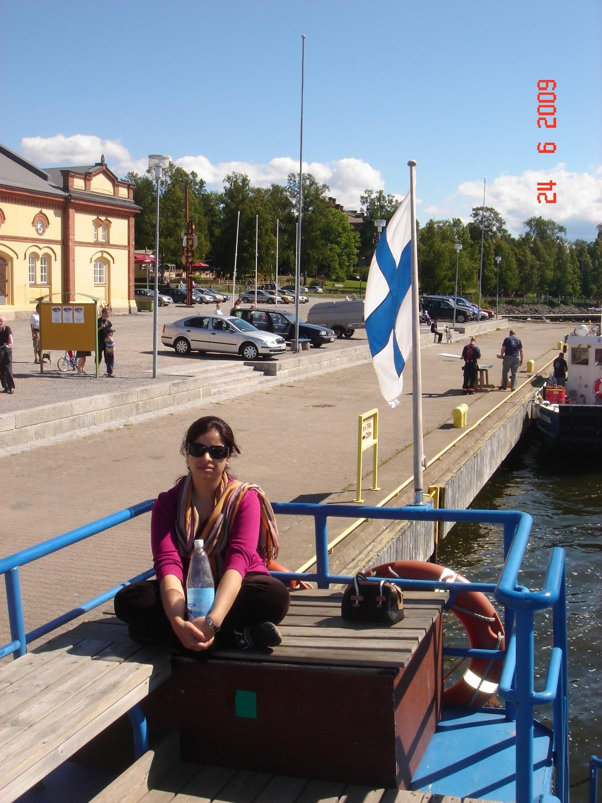 Kalaranta Passenger Quay,Vaasa,Finland
