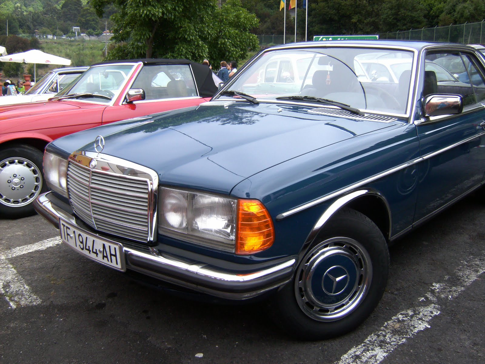 MERCEDES W 123 280 COUPE