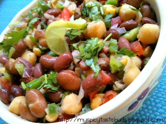 My Spicy Taste Buds: Mexican Bean Salad