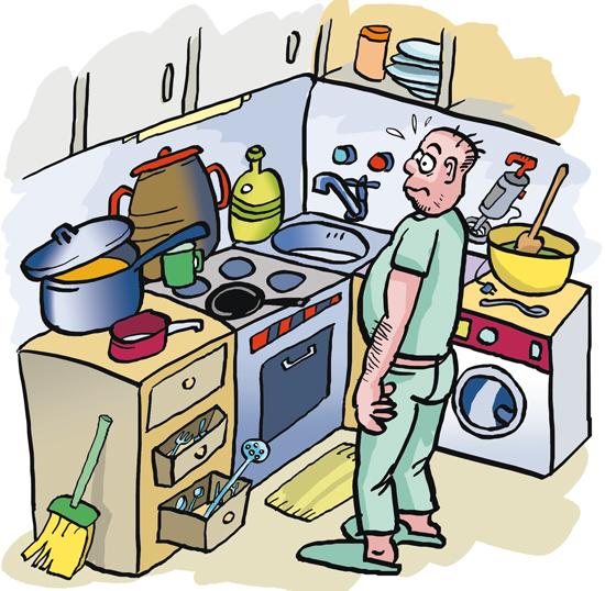 Soluciones actividad de los muebles - Dibujo de cocinas ...