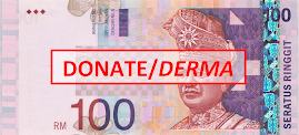 Donate RM 100 here... (Online)
