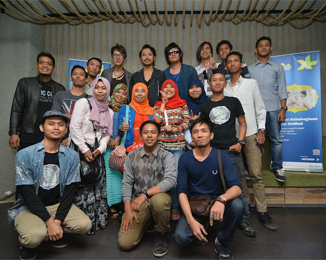 J-Rock Ngabuburit di Medan