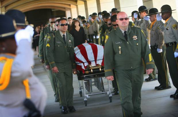 Marvelous Colleagues Say Goodbye To Correctional Officer Who Died In On Duty Crash